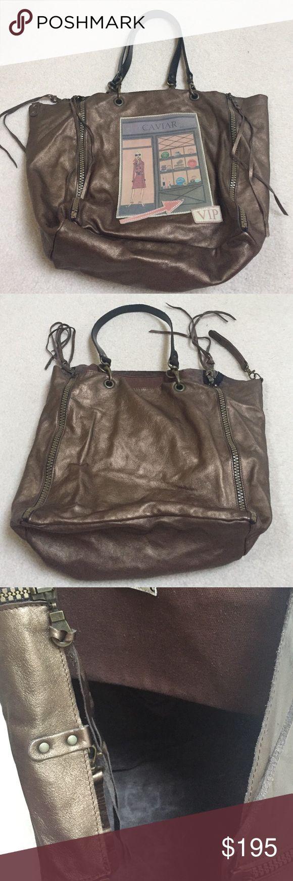 Bronze Barbara Rihl Large Tote Amazing bag. Soft leather. Bronze color. Like new. Make an offer! Barbara Rihl Bags