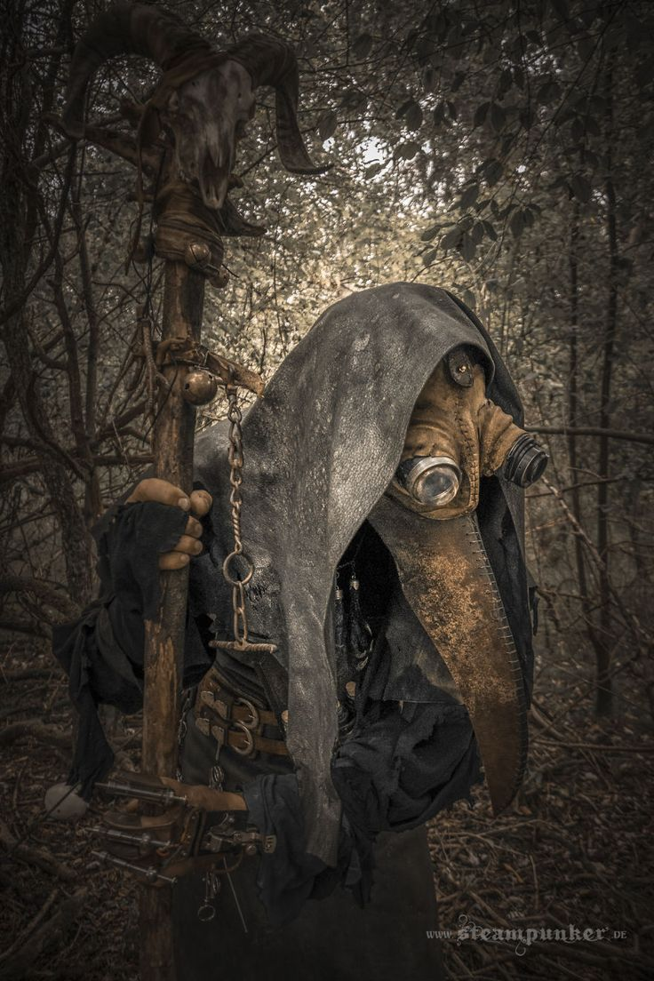 I Created A Plague Doctor Costume In Steampunk Style | Bored Panda