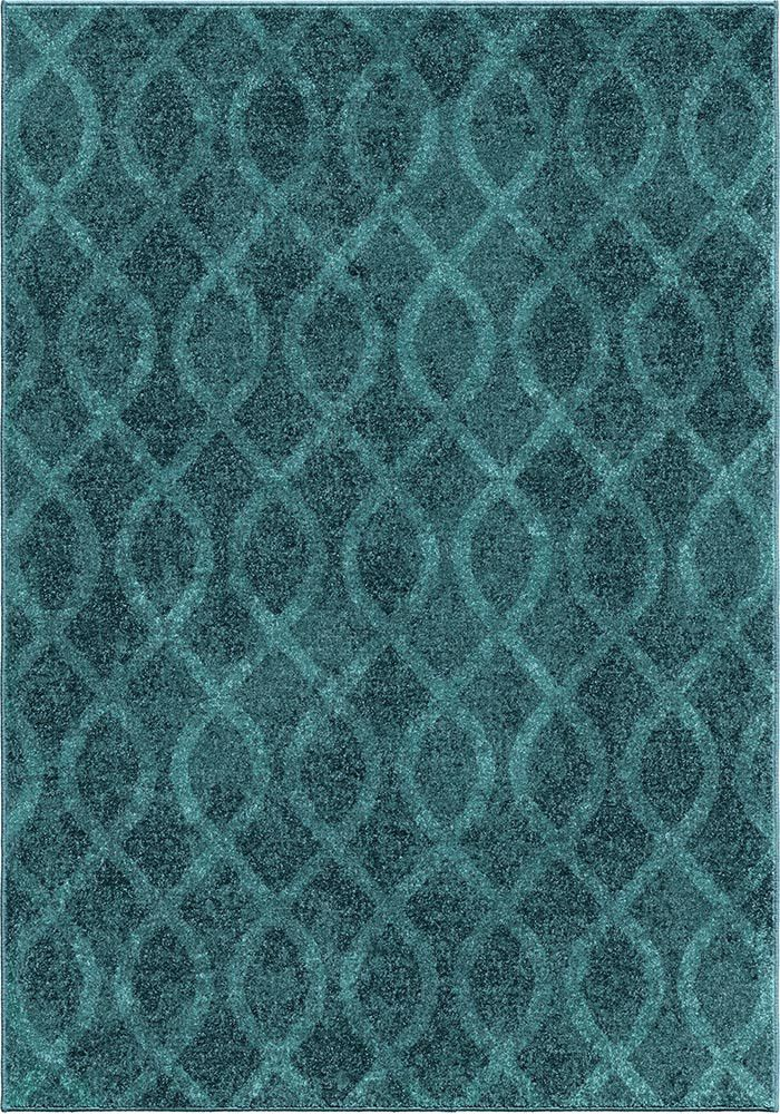 Teal Dining Room Rug