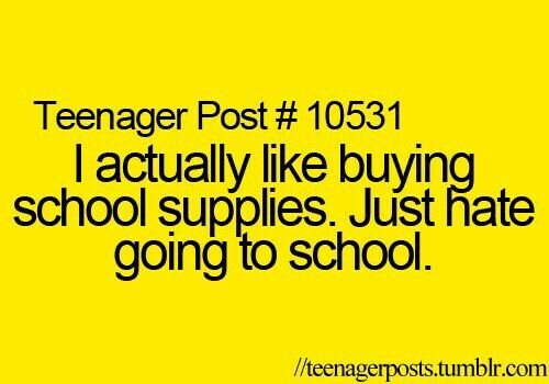 I Hate School Quotes: 18 Best Images About Teenager Posts On Pinterest