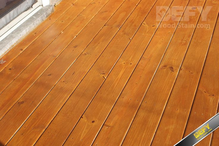 Pressure Treated Deck Stained With Defy Extreme Wood Stain Cedar Tone Defy Wood Stain