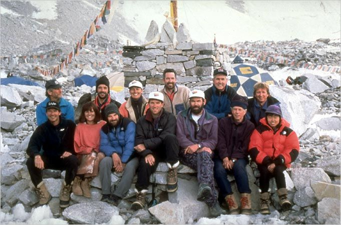 rob hall everest expedition 1996 team