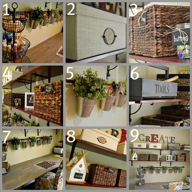 craft room inspiration: Good Ideas, Organizations Ideas, Rooms Inspiration, Cool Crafts, Cute Ideas, Rooms Ideas, Storage Ideas, Crafts Rooms Decor, Craft Rooms
