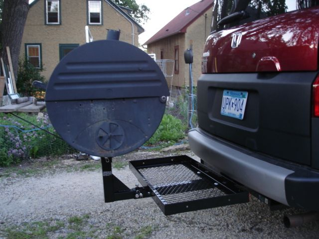 Trailer Hitch Grill - cheap & easy! - Honda Element Owners Club Forum