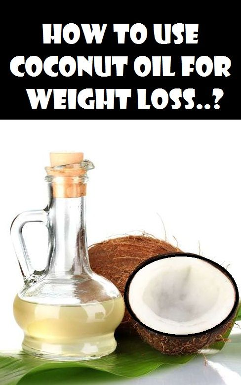 How to Use Coconut oil for Weight loss..?