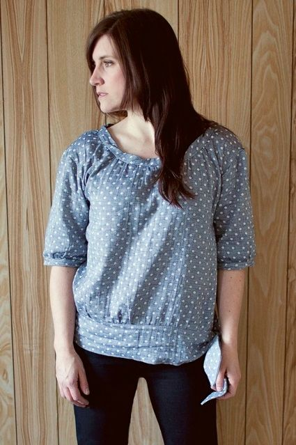 The Honey Blouse - really like this pattern.