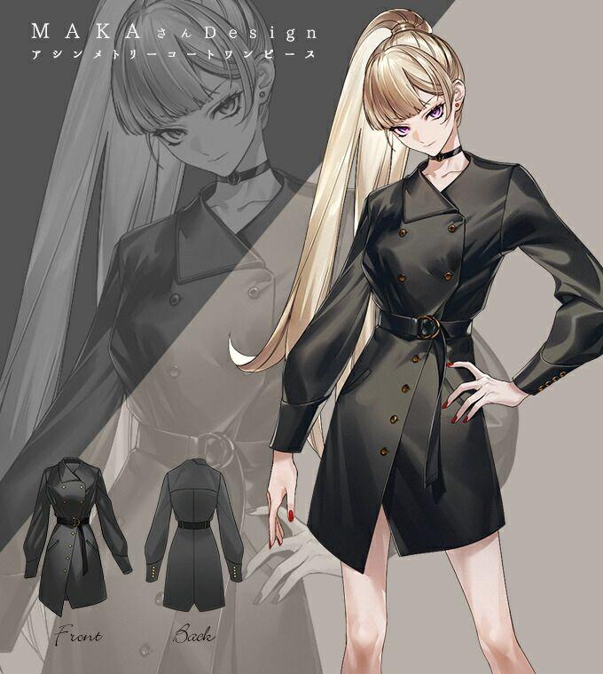 twitter アニメの服装 アニメの女の子 イラスト