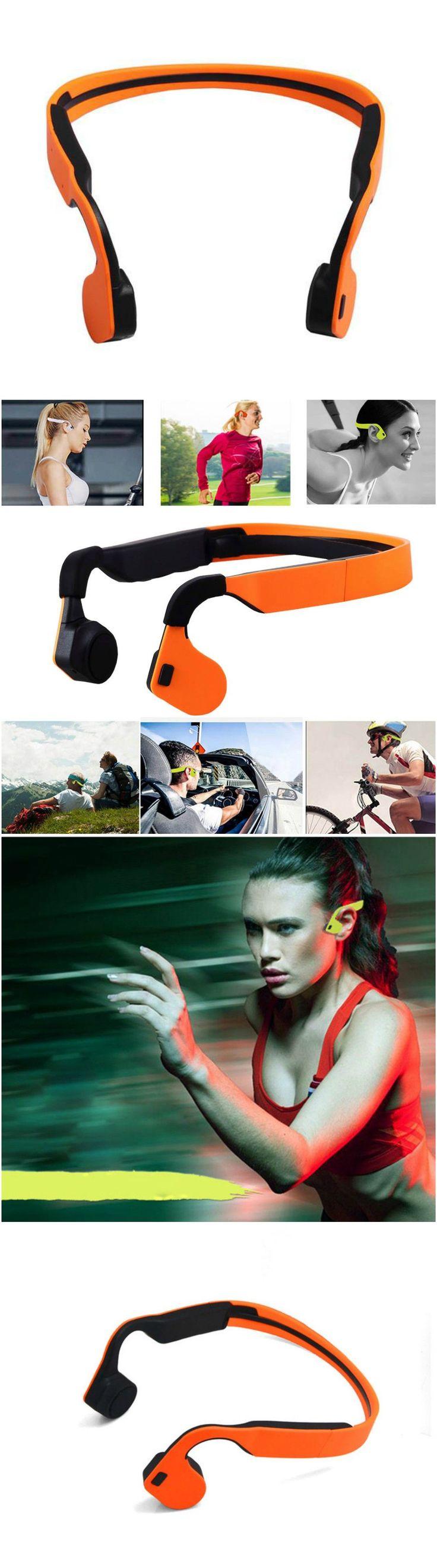 Bone Conduction Wireless Bluetooth Stereo Headset Bluetooth Neck-Strap Hands-Free Earphone, tech, technology, tech gadgets, tech gifts, tech gifts for men, #tech, #technology, #techgadgets, #techgifts, #techgiftsformen  www.thinkruptor.com