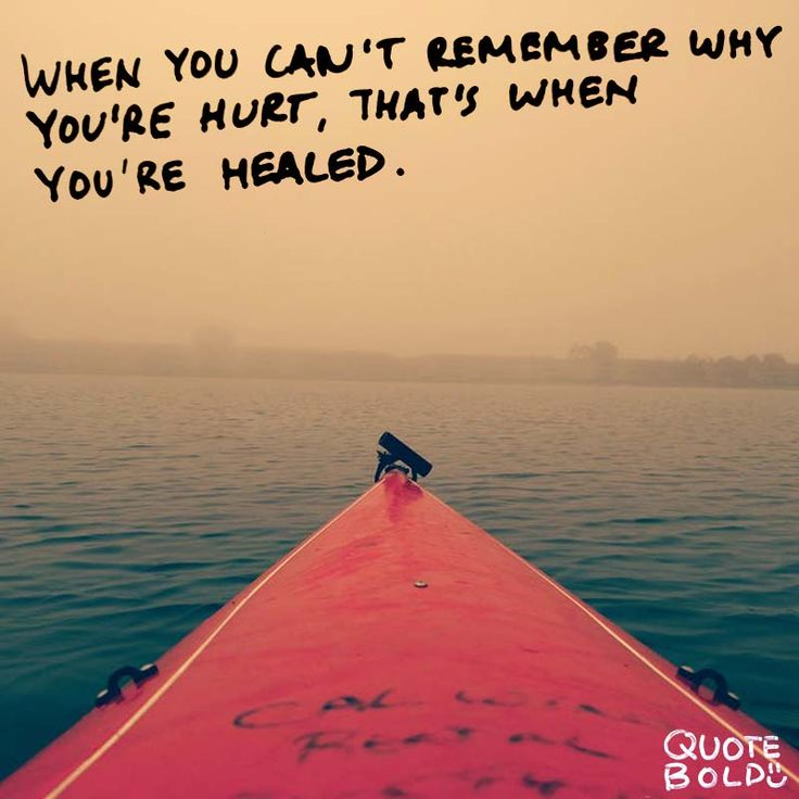 """""""When you can't remember why you're hurt, that's when you're healed."""" – #Jane #Fonda  See more #being #hurt #quotes at http://quotebold.com/being-hurt-quotes/"""