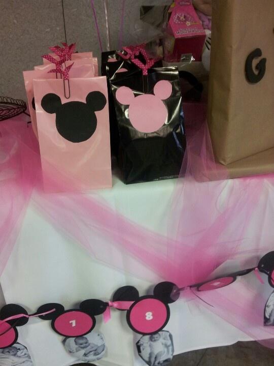Minnie Mouse Favor Baga