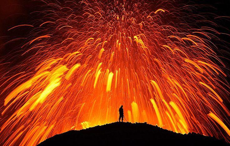 Lava dancingIceland, Erupting Volcano, Eruption Volcano, Skarphedinn Thrainsson, Nature, Most Popular, Lava, Fire, European Travel