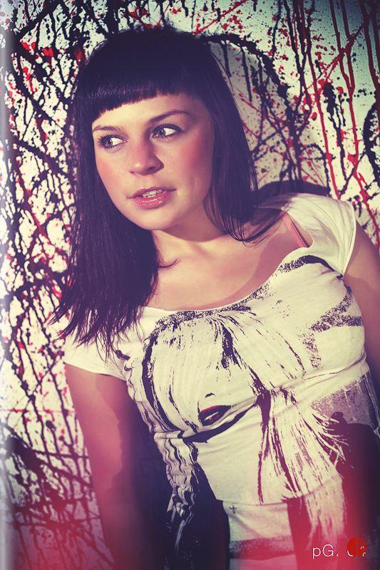 Fashion portrait photo shooting