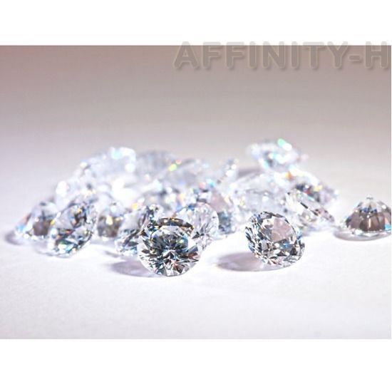 Wholesale 20pcs Lot CZ Cubic Zirconia Loose Stone White AAA Quality SIZE 2-12mm #AffinityHomeShopping