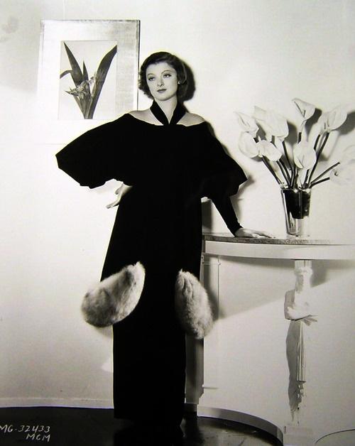 Myrna Loy 1930 39 S Vintage Fashion Early Twentieth