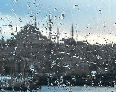 Istanbul in the rain