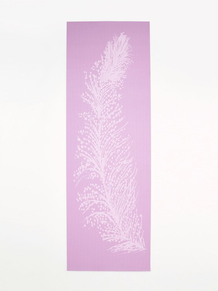 a feather yoga mat. oh wow. (from free people)
