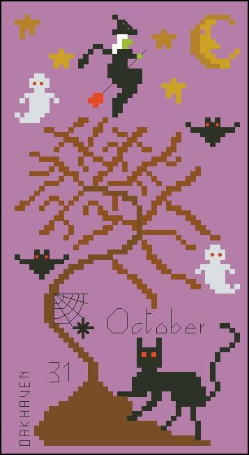 OakHaven Designs Halloween Freebie