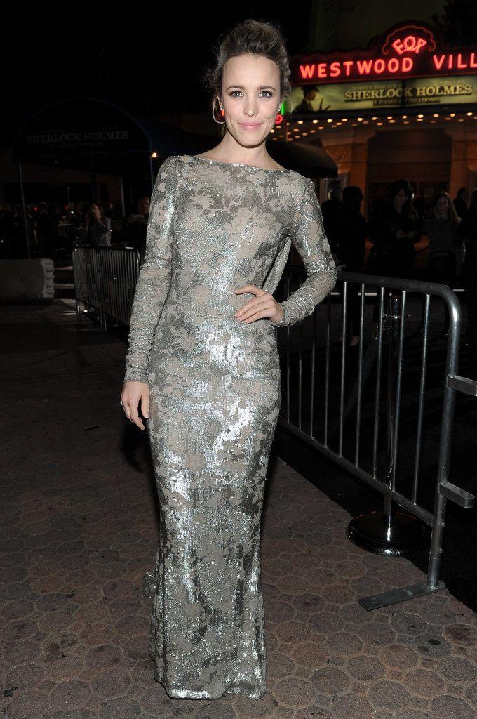 Rachel McAdams: Rachel McAdams showed off her dress in LA.