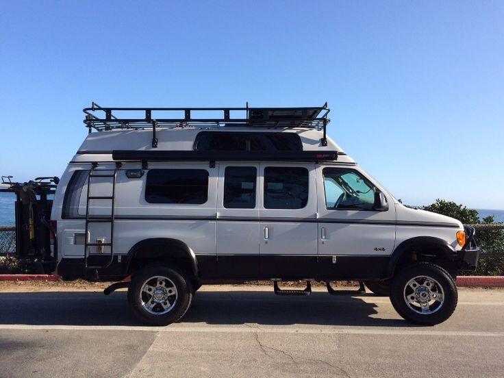 sportsmobile custom camper vans 1998 ford e350 rb diesel. Black Bedroom Furniture Sets. Home Design Ideas