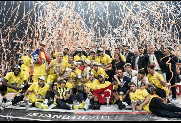 Eurolig Champion Fenerbahçe 2017
