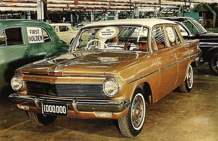 The 1,000,000th Holden EJ