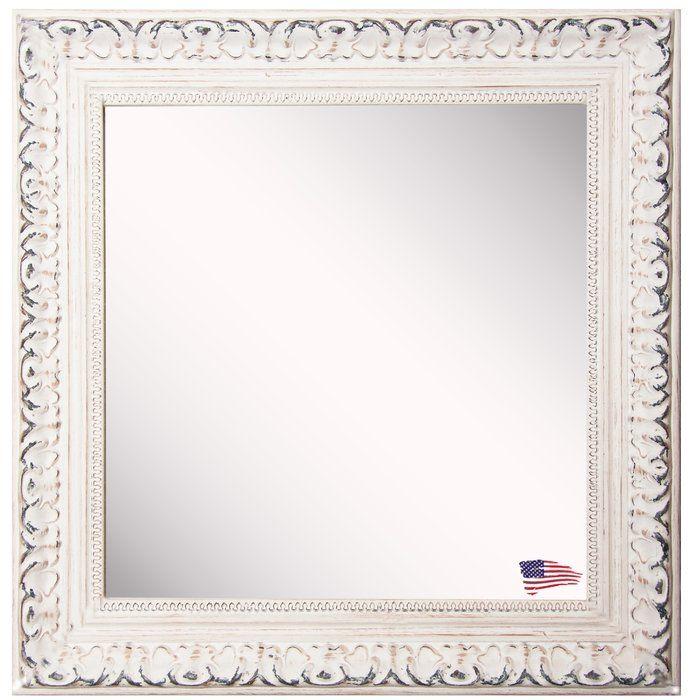 Debbie Square French Victorian Wall Mirror