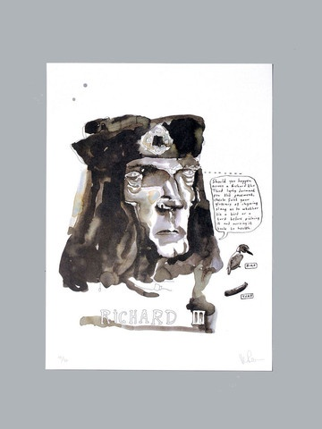 Richard III  £400.00       Vic Reeves