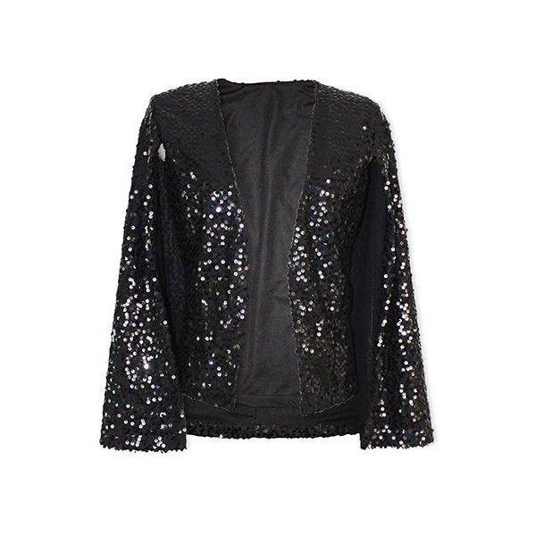 Πάνω από 25 κορυφαίες ιδέες για Black sequin jacket στο Pinterest ...