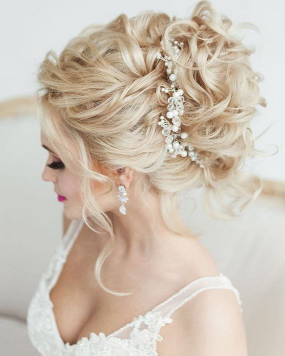 35 Beautiful Wedding Hairstyles For Long Hair: Gallery: Elstile Wedding Hairstyles For Long Hair 35