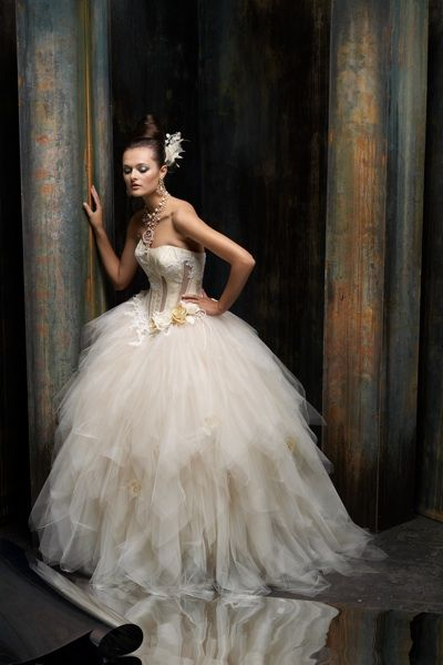 Designer Spotlight: St. Pucchi - Blackbride.com known for infusing gowns