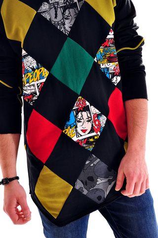 Bluzon handmade pentru barbati, marca Different Cut