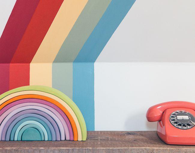 Rainbow Room – ein Kinderzimmer wird bunt