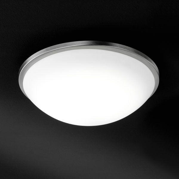 Elegante Deckenleuchte In Halbkugelform Mit Led Led Led Leuchten Wohnen Lampen Leuchten Led Leuchten Led Deckenlampe