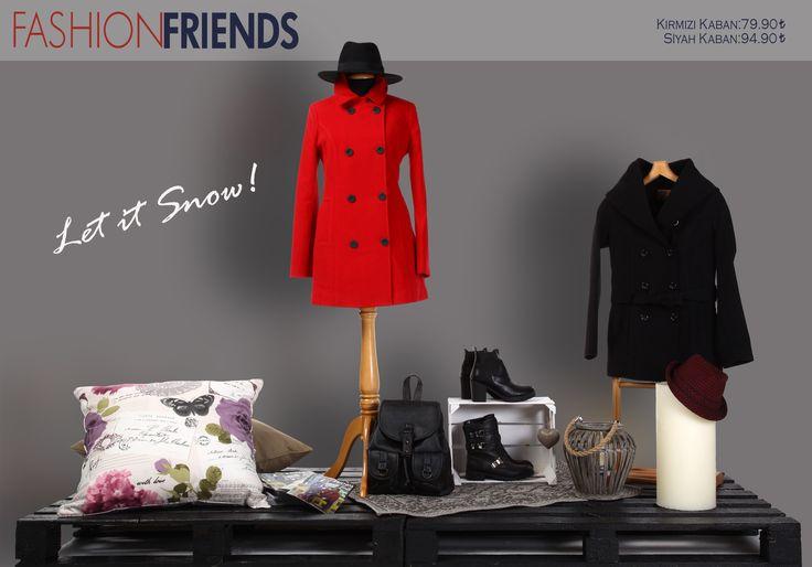 Haftanın flash ürünleri #letitsnow #haftaninurunu #fashionfriends #kaban #mont #winter #kis #womancollection #modasensin #onlineshopping www.fashionfriends.com