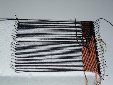 freestyle weaving tutorial pin loom
