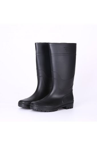 (38-47) Men Rain Boot Knee Height PVC Waterproof Anti-slip Sole Wear-resisting Black - Intl | Price: ฿1,391.00 | Brand: Unbranded/Generic | From: Top Seller Shoes - รวมรองเท้าแฟชั่น รองเท้าผู้ชาย รองเท้าผู้หญิง ราคาพิเศษ | See info: http://www.topsellershoes.com/product/54298/38-47-men-rain-boot-knee-height-pvc-waterproof-anti-slip-sole-wear-resisting-black-intl