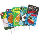 Let party guests know where to find the fun with this football yard sign.  This football yard sign is a great addition to your party supplies and decorations. www.ustoy.com