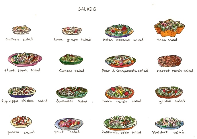 17 Best Images About Food And Menus On Pinterest: 17 Best Images About Illustrated Menus On Pinterest