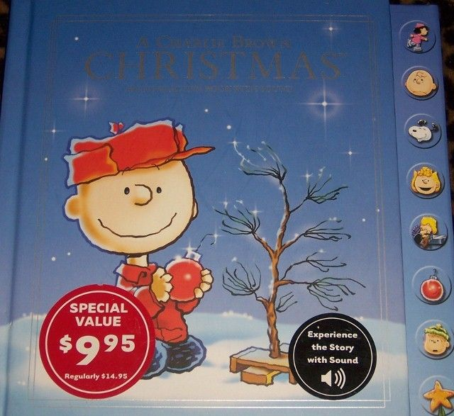 Charlie Brown Christmas Interactive Book with Sound Hallmark ...
