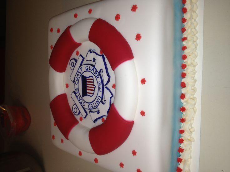 Coast Guard cake