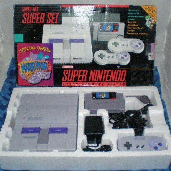 Super Nintendo...oh the good ole days.