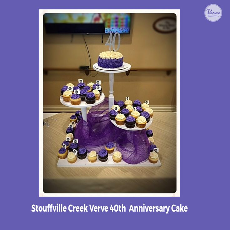 Stouffville Creek had a Verve inspired dessert table at our 40th Anniversary party and it was delicious!