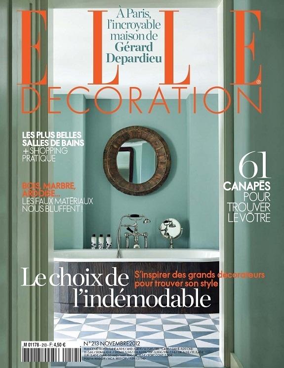 Elle Décoration N°213-Novembre 2012...!!!