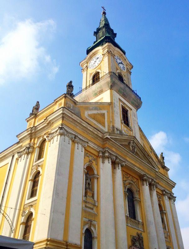 The Catholic Church of Kecskemét. Kecskemét, Hungary. Photo by Megan K. Lethbridge.
