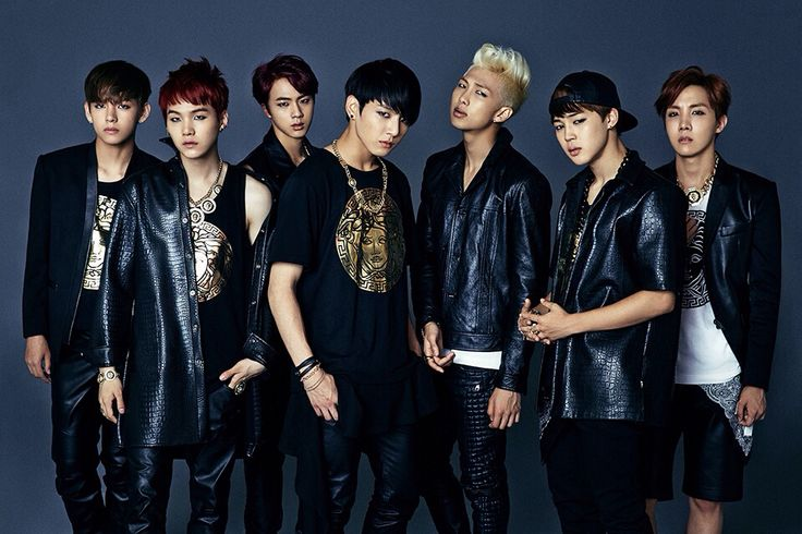 "Bts ""Danger"" era Dark and Wild image teasers (from left to right) V, Suga, Jin, Jungkook,Rap Monster, Jimin, J-Hope."