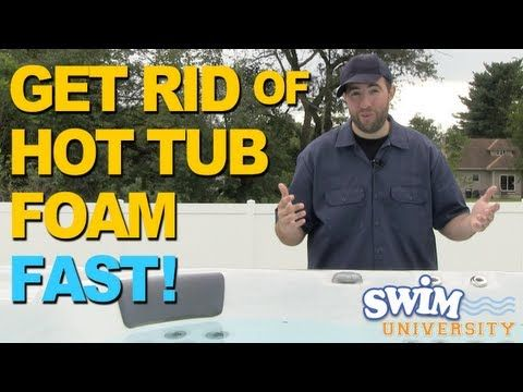 how to get rid of chloramines pool