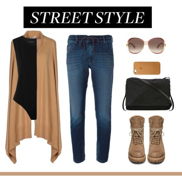 A fashion look from August 2015 featuring Gentryportofino cardigans, Diesel jeans and Rick Owens boots. Browse and shop related looks.