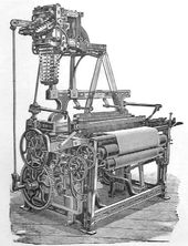 Power Loom:  Date- 1785  Creator- Edmund Cartwright  Impact- The power loom was a steam powered version of a regular loom.  It combined threads to make cloth, speeding up the threading process.