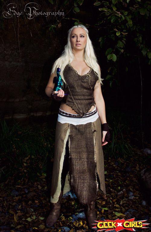 Daenerys targaryen cosplay game of thrones cosplay il for Game of thrones daenerys costume diy