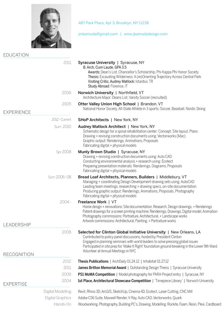 37 best CV on the go images on Pinterest Resume design, Design - application architect sample resume